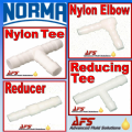 Norma White POM Hose Joiners